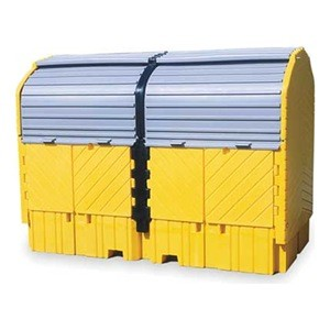 Ultra-With Drain Twin IBC Hardtop Pallet