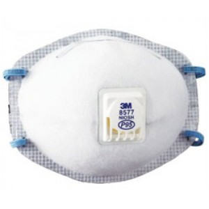 3M™ Particulate Respirator 8577, P95, with Nuisance Level OV Relief