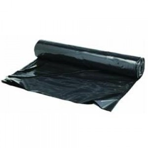 6Mil - 20'x100' Black Poly Sheeting /roll - Item #PB0095