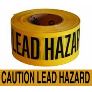 Lead Hazard Tape 3x1000'