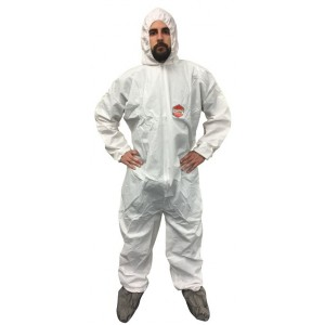 Safetyguard Microporous Protective Coveralls 25/ Case - Item #CN1400