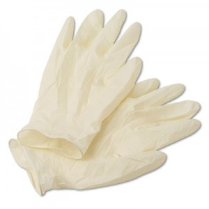Latex Disposable Glove Powdered 100/box