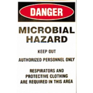 Mold Warning Signs-English/pack