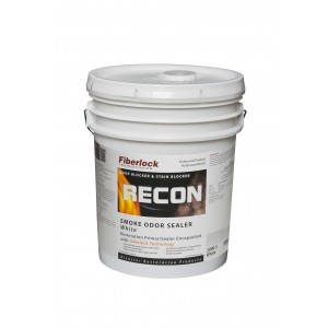 Fiberlock RECON Smoke Odor Sealer White, 5 Gallon