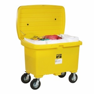 Oil Spill Cart Kit With 8 Inch Wheels