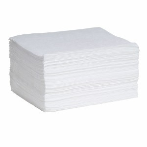 Oil-Only MeltBlown Pads - Medium  Weight - 100 ct.