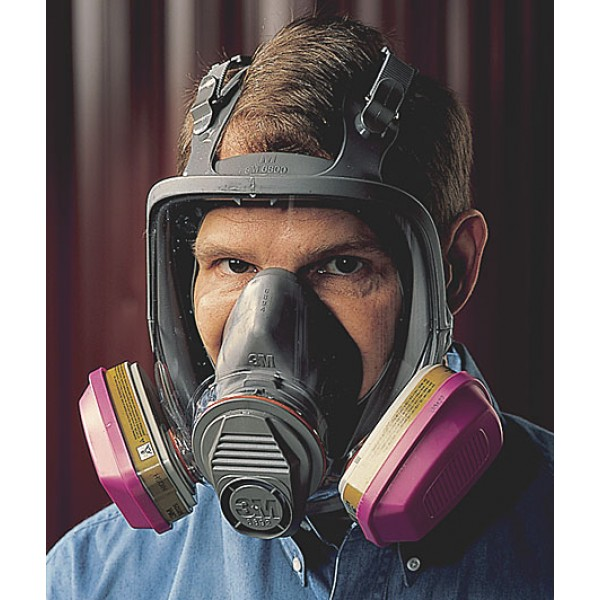 The Safetyhouse Lead Mold And Asbestos Abatement Supplies 3m 6000 Full Face Respirator For Respiratory Protection Personal Protective Equipment