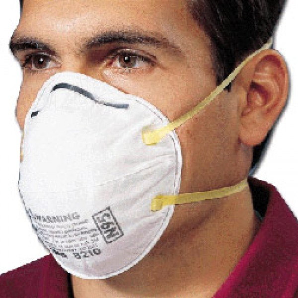 rd8210v Respirator N95 Particulate 3m™ Item 8210 -