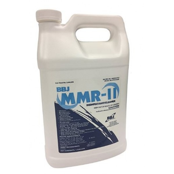 BBJ Mold and Mildew Remover, MMR II, 1 Gallon