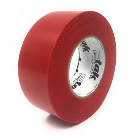 Red Polyethylene Tape, 2''x180', 24 Rolls/Case