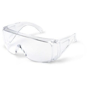 Radians Chief Safety Glasses, Clear Lens