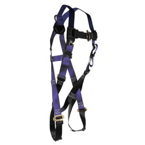 Falltech Contractor Full Body Harness w/ Single D Ring