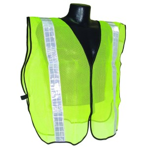 Radians SVG2 2 Inch Tape Universal Size Non Rated Safety Vest, Green Mesh