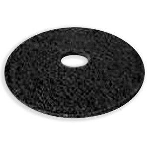 Floor Buffer Strip Black Pad 17""