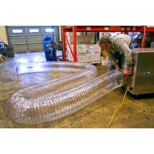 Flexible Ducting 14 in.x 25 ft. Clear - Item #AM0203