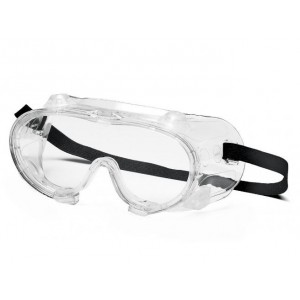 (12 Pair) Pyramex Goggles Chem Splash-Clear (G204)