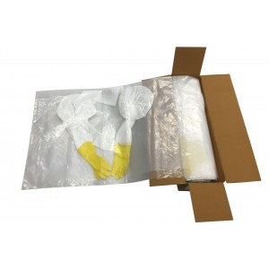 Continuous Glove Bags 25/roll 44in x 60in