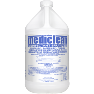 MediClean Disinfectant Spray Plus Fragrance Free (formerly Microban)