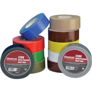 Nashua 2280 9 mil Multi-Purpose 2 inch Black Duct Tape
