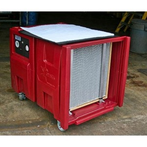 Novatek's Novair 2000 Premium Negative Air Machine