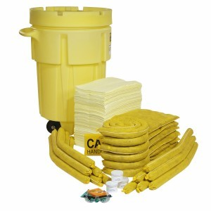 HazMat Spill Kit 95-Gallon Wheeled