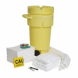 Oil Spill Kit 50-Gallon Wheeled