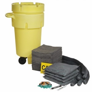 Universal 50-Gallon Wheeled Spill Kit