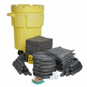 Universal 95-Gallon Wheeled Spill Kit