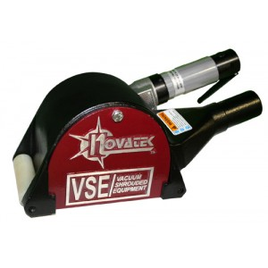 Novatek Compressed Air Rotopeen, Shrouded-  2 in w/ Flaps