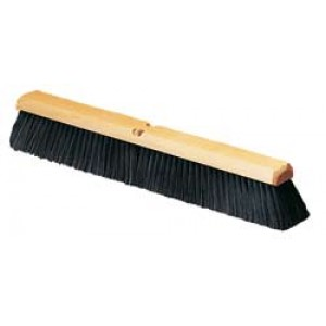 Wooden Floor Push Broom 18 in.