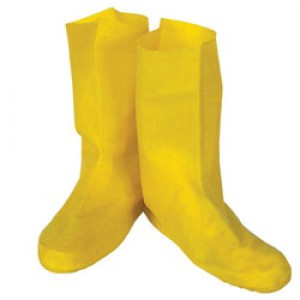 Latex Booties Yellow/pair - Item #CB0905