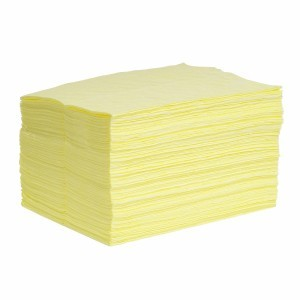 HazMat SonicBonded Pads, Medium Weight - 100 ct. - Item #SR1011-H