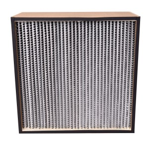 HEPA Filter-Wooden 24in. x 24in. x 11.5in. 2000 CFM Capacity