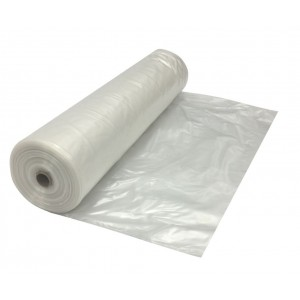 10 Mil Clear Poly Sheeting 20'x100' - Item #PC0093